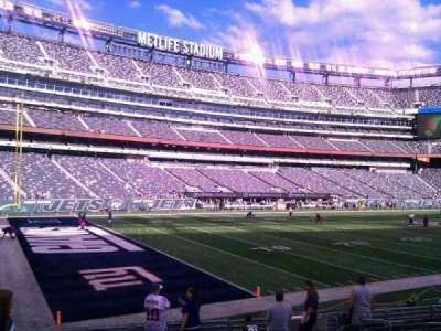 MetLife Stadium, section: 144, row: 13, seat: 6