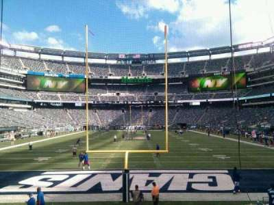 MetLife Stadium, section: 101, row: 12, seat: 8