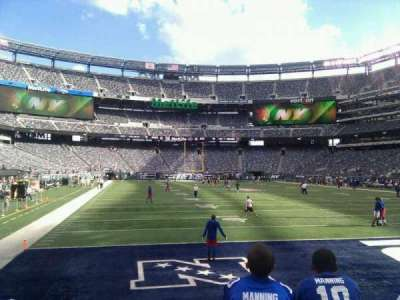 MetLife Stadium, section: 104, row: 3, seat: 2