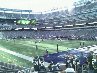 MetLife Stadium, section: 106, row: 12, seat: 6