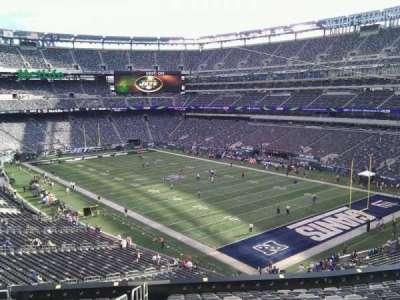 MetLife Stadium, section: 207c, row: 1, seat: 1