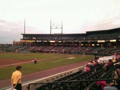 Clipper Magazine Stadium, section: 17, row: e, seat: 5