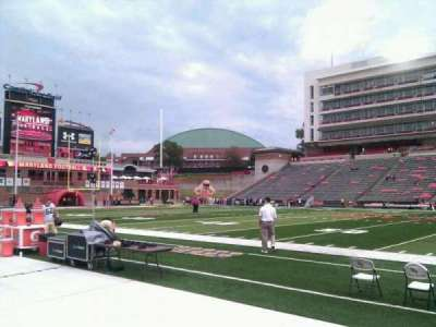 Maryland Stadium, section: 6, row: b, seat: 17