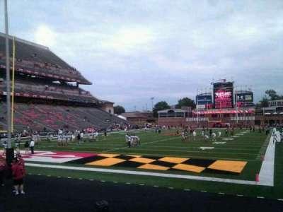 Maryland Stadium, section: 18, row: k, seat: 5