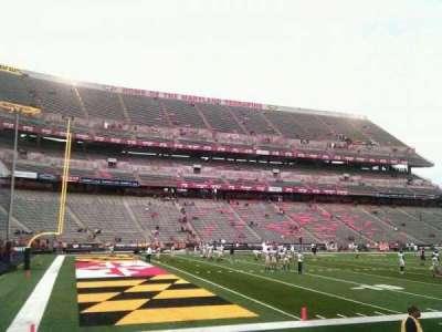 Maryland Stadium, section: 20, row: g, seat: 13