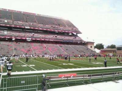 Maryland Stadium, section: 23, row: e, seat: 18