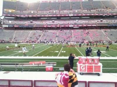 Maryland Stadium, section: 24, row: h, seat: 22