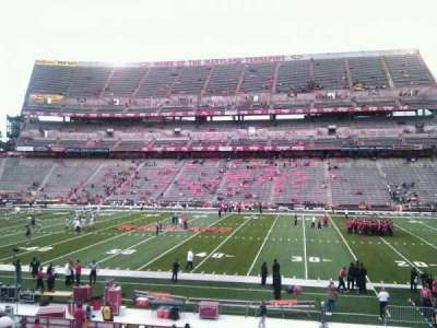 Maryland Stadium, section: 26, row: cc, seat: 17