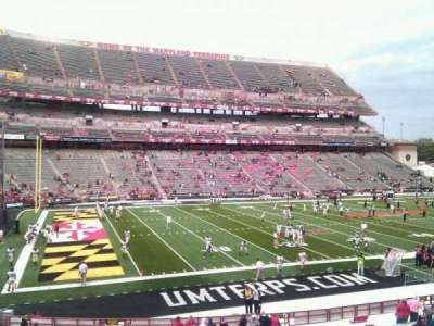 Maryland Stadium, section: 22, row: hh, seat: 12