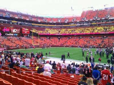 FedEx Field, section: 121, row: 15, seat: 11