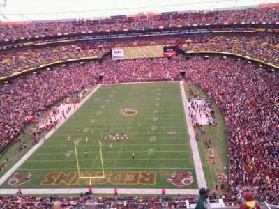 FedEx Field section 440