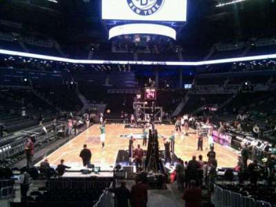 Barclays Center, section: 16, row: 11, seat: 4