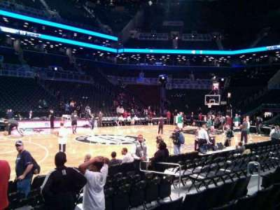 Barclays Center, section: 25, row: 5, seat: 16