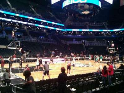 Barclays Center, section: 26, row: 5, seat: 3