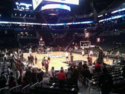 Barclays Center, section: 3, row: 3, seat: 3