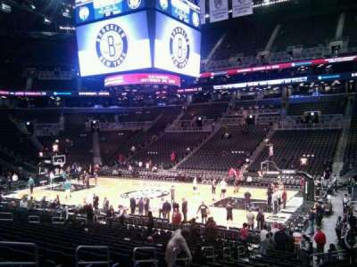 Barclays Center, section: 6, row: 19, seat: 1