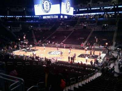 Barclays Center, section: 106, row: 5, seat: 4