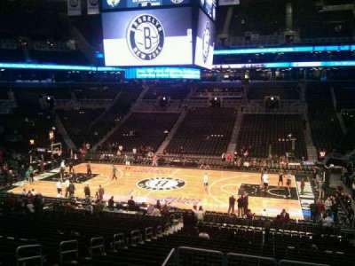Barclays Center, section: 107, row: 6, seat: 9