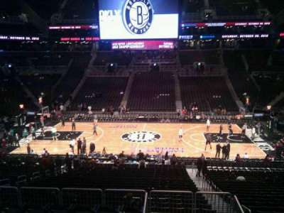 Barclays Center, section: 108, row: 7, seat: 3