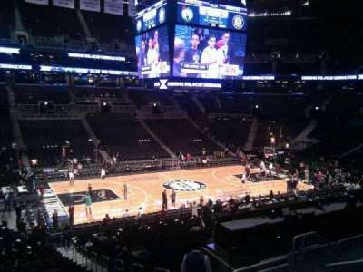 Barclays Center, section: 110, row: 9, seat: 6