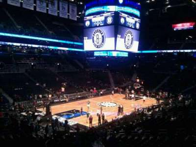 Barclays Center, section: 112, row: 6, seat: 15