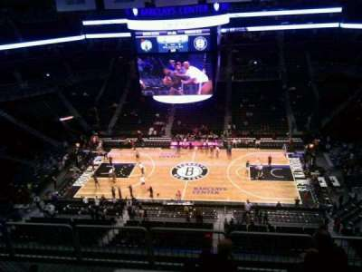 Barclays Center, section: 223, row: 7, seat: 9