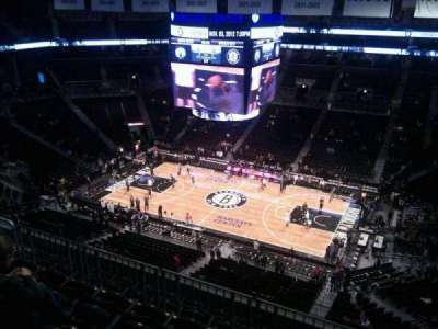 Barclays Center, section: 222, row: 7, seat: 10