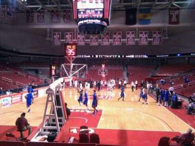 Liacouras Center, section: 108, row: j, seat: 9