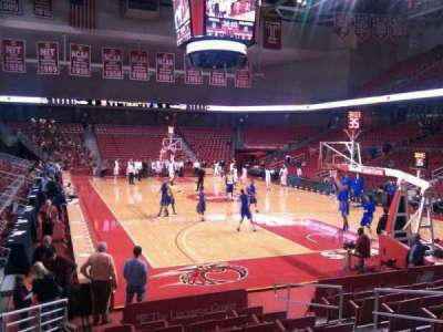 Liacouras Center, section: 109, row: l, seat: 7