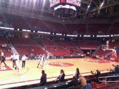 Liacouras Center, section: 114, row: h, seat: 14