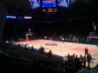 Madison Square Garden, section: 109, row: 8, seat: 10