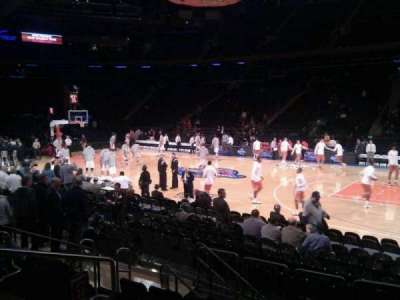 Madison Square Garden, section: 118, row: 6, seat: 4