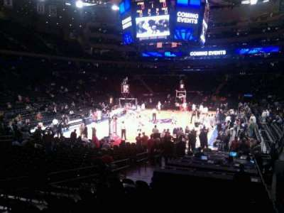 Madison Square Garden, section: 113, row: 10, seat: 10