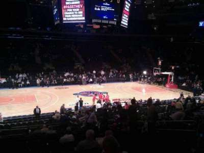 Madison Square Garden, section: 106, row: 17, seat: 12