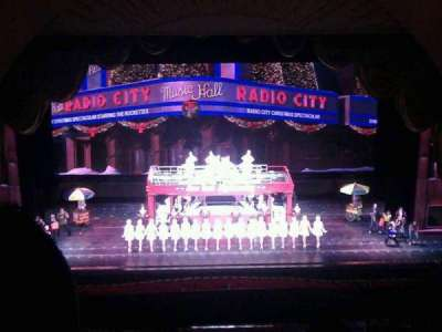 Radio City Music Hall section 3rd Mezzanine 4
