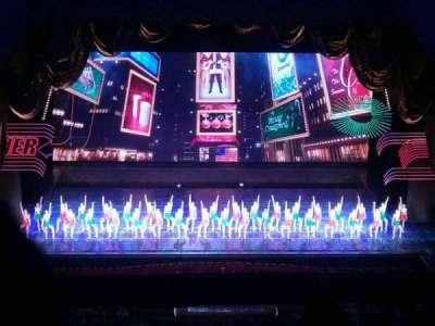 Radio City Music Hall, section: 3rd Mezzanine 4, row: b, seat: 410