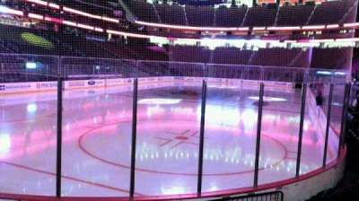 Prudential Center, section: 4, row: 6, seat: 5