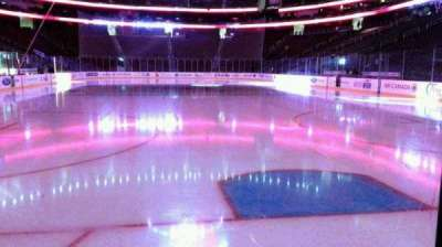 Prudential Center, section: 13, row: 1, seat: 3