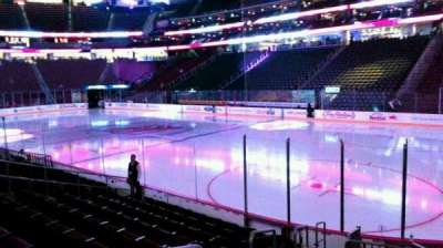 Prudential Center, section: 22, row: 10, seat: 12