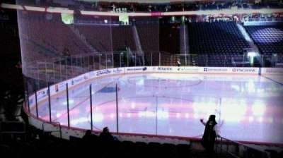 Prudential Center, section: 6, row: 10, seat: 1