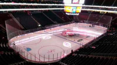 Prudential Center, section: 107, row: 3, seat: 10