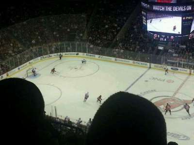 Prudential Center, section: 213, row: 3, seat: 3