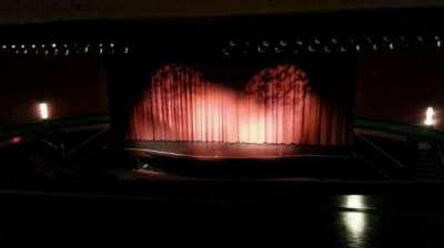 Landis Theater, section: mezzanine, row: aa, seat: 101
