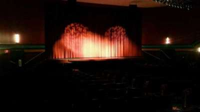 Landis Theater, section: orchestra left, row: v, seat: 11