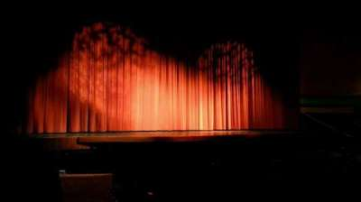 Landis Theater, section: orchestra left, row: k, seat: 1
