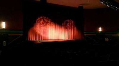 Landis Theater, section: orchestra left, row: s, seat: 17