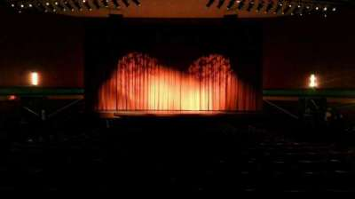 Landis Theater, section: orchestra center, row: w, seat: 107