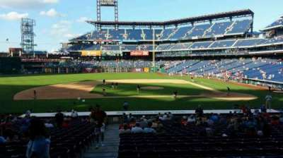 Citizens Bank Park, section: 130, row: 28, seat: 18