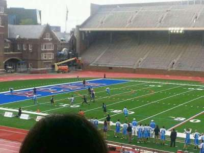 Franklin Field, section: SF, row: 22, seat: 10