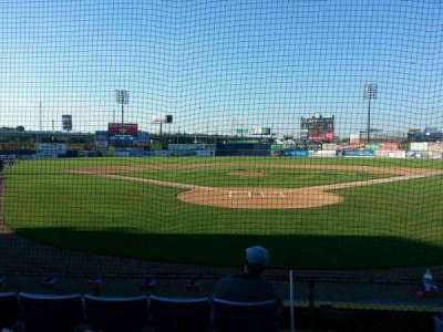 Frawley Stadium, section: 15, row: 5, seat: 1